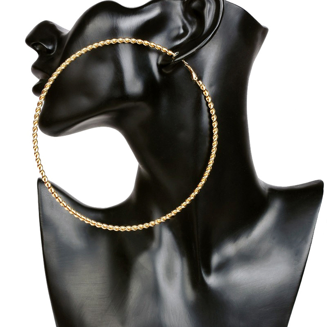 Bamboo Clothing Wholesale Europe: Aliexpress.com : Buy Gold Plated Large Big Metal Circle