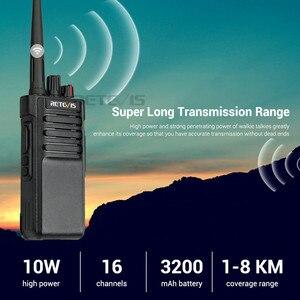 Image 4 - IP67 עמיד למים ווקי טוקי RETEVIS RT29 10W UHF (או VHF) VOX ארוך טווח דו דרך רדיו תחנת עבור מפעל חוות מחסן
