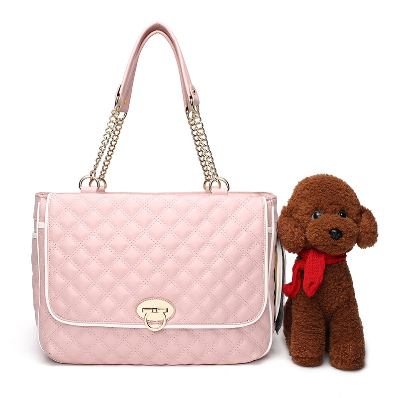 Luxury Pink Dog Carrier Bag Shoulder Bag Small Pet Carriers Outdoor Foldable Portable Carry Tote Dog Bag Chihuahua YorkshireLuxury Pink Dog Carrier Bag Shoulder Bag Small Pet Carriers Outdoor Foldable Portable Carry Tote Dog Bag Chihuahua Yorkshire