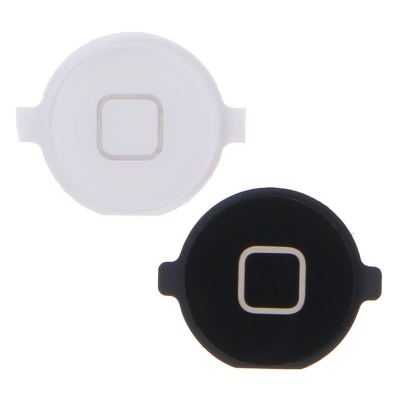 1 Pc Home Menu Button Replacement Return Key Cap Rubber Gasket Holder Repair Part For Apple IPod Touch 4