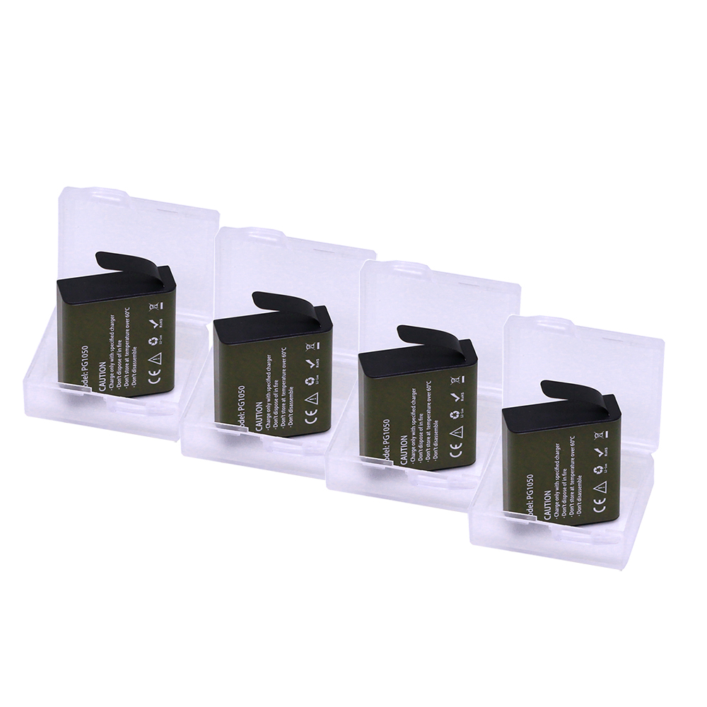 Doscing Sport Camera Accessories Batteries <font><b>PG1050</b></font> 1050mah EKEN Battery For SJCAM SJ4000 SJ5000 sj8000 sj9000 H9 Sport Camera image