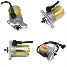 Motorcycle Electric Starter Motor for 50cc GY6 139QMB Dirt Bike Quad Go kart(China)