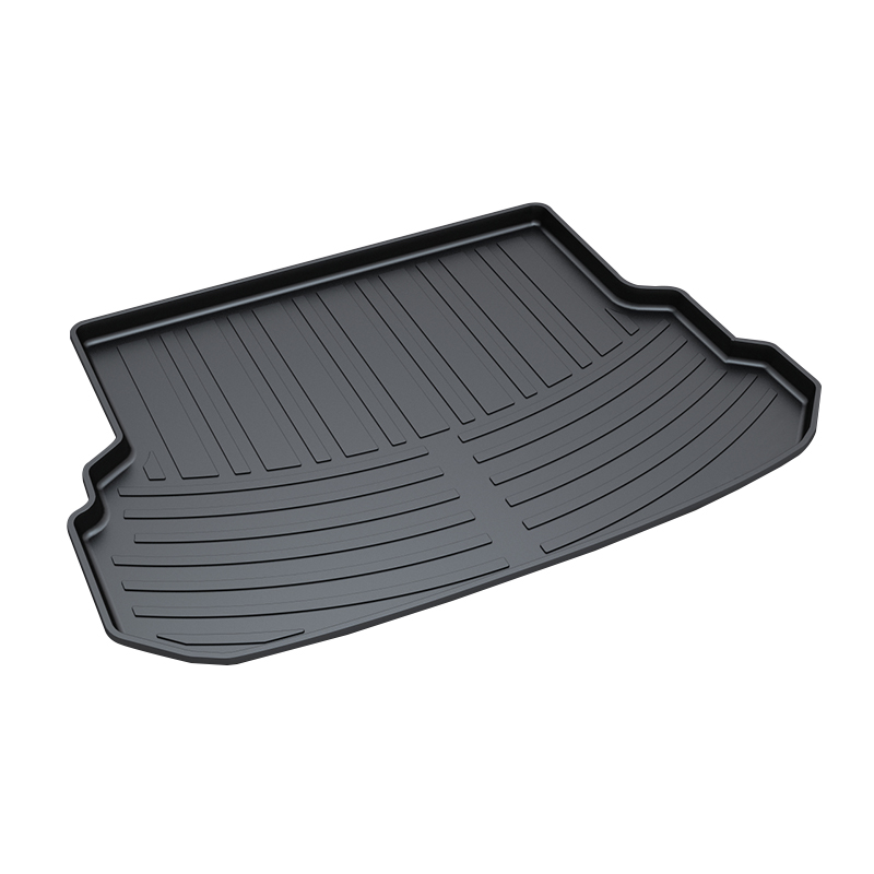 Rear Trunk Cargo Boot Liner Tray for Benz GLK Premium Waterproof Anti-Slip Car 3D trunk mat in Heavy Duty Black for honda jazz trunk tray mat tpo waterproof anti slip car trunk carpet luggage cover black