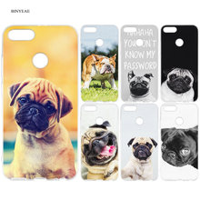 French British Bulldogs Pugs Dog Case Capa for Redmi 7 6A 5 6 5A S2 Plus Note 5 7 6 5A Pro Xiao Mi Play 9 8 A1 Lite Pocophone F1(China)