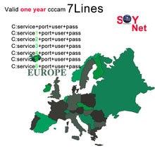 1 Year Europe Cccam Clines Spain Portugal Germany Poland Italy cccam clines For DVB-S2 v7 Satelite TV Receiver V8 SUPER europe cccam cline for 1 year dvb s2 spain free test server for spain italy portugal germany gtmedia v8 nova v7 hd server