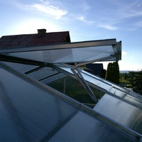 Automatic Agricultural Greenhouse Window Opener Solar Heat Sensitive Window Opener 45cm 30 Degree