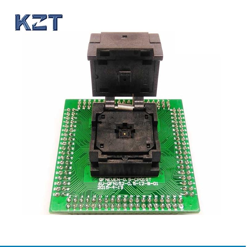 QFN24 MLF24 WLCSP24 to DIP24 Programming Socket Pin Pitch 0.5mm IC Body Size 4x4mm IC550-0244-015-G Test Socket Adapter цена