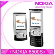 6500 S Refurbished Nokia 6500 Slide Handys 3G Bluetooth Mp3-player 3.15MP Telefon