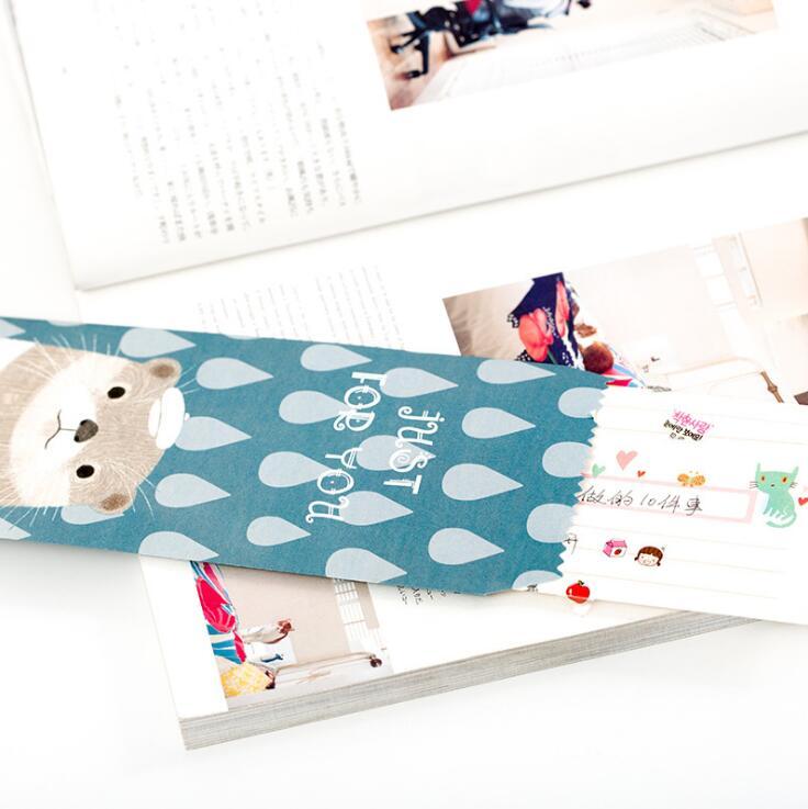 5 teile/paket Tier Meow Katze Hund Neuheit Umschlag Brief Papier Nachricht Karte Brief Stationäre Lagerung Papier Geschenk