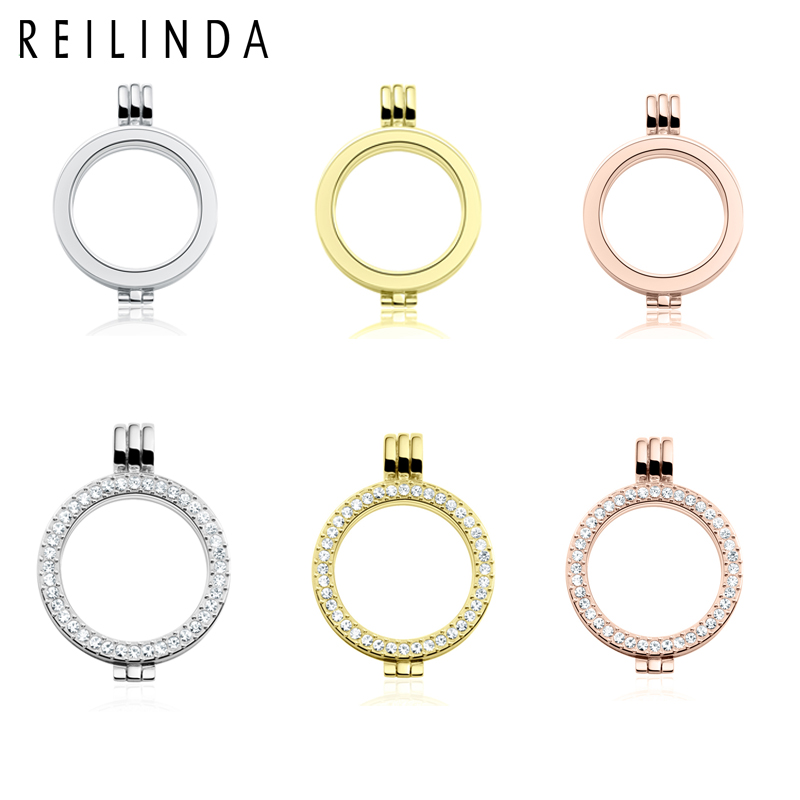 Wholesale 1pcs 35mm Mi Coins Pendant For 33mm My Coins Disc Openable Interchangeable Floating Locket No Glass