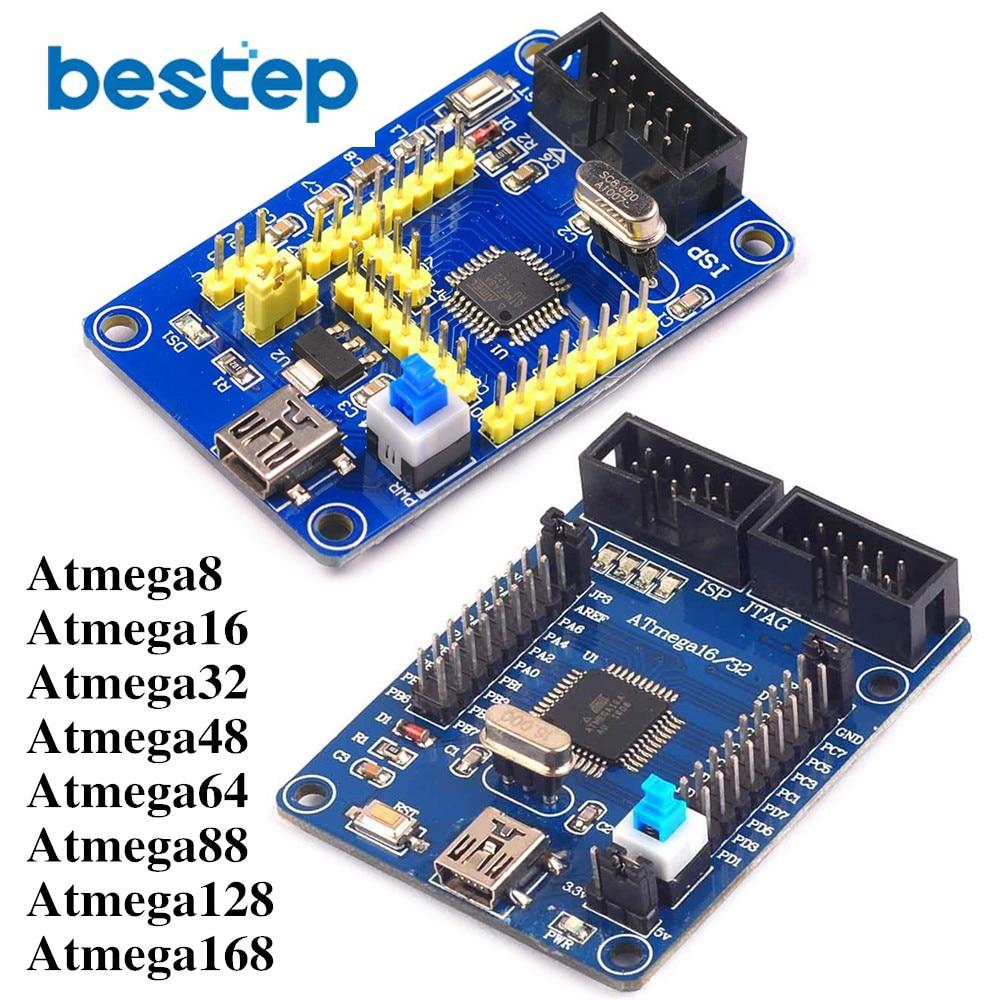 Atmega 8/16/32/48/64/88/128/168 Development Board Learning Board Minimum System Core Board for 8/16/32/48/64/88/128/168 AVRAtmega 8/16/32/48/64/88/128/168 Development Board Learning Board Minimum System Core Board for 8/16/32/48/64/88/128/168 AVR