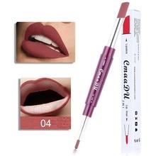 High Quality Double Ended Lip Liner Waterproof Long Lasting Moisturizing Makeup Lipliner Stick Pencil