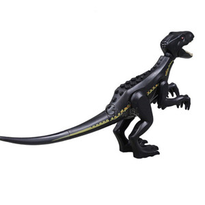 Single sales large Jurassic Dinosaur world Figures Tyrannosaurs Rex Building Blocks Compatible With Legoing Dinosaur Toys microlab m 109 black