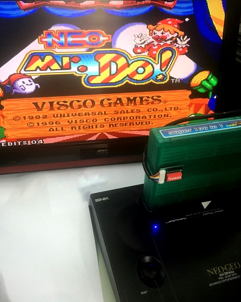 NEOGEO MVS 138 in 1 Game Cartridge for SNK Arcade Machince or AES Console with NEO MVS Adaptor snk p0067ps