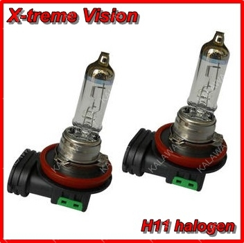free shipping X treme Vision H11 100 Brighter Xenon Car HeadLight Bulb Halogen Light Kit 12V