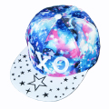 Popular Snapback hat Hip-Hop Caps adjustable Men Women Fashion Bone Baseball Cap Galaxy Star pattern Flat Hat The Visor MEXO1