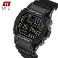 TTlife Marca Relógios Homens Resistente Ao Choque Militar LED Digital Watch Moda Esportes Ao Ar Livre Correndo Relógios de Pulso Relógio de Mergulho 30 M