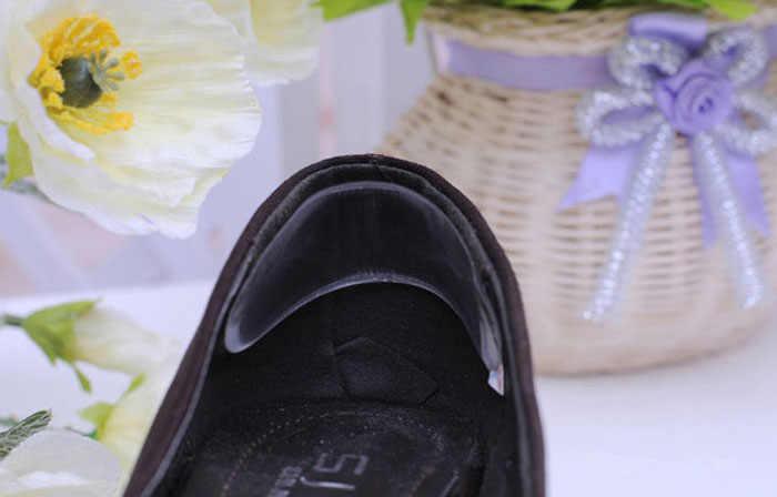 Силиконовые гелевая Подушечка для пяток протектор Ноги Уход за ногами анатомический вкладыш для обуви shose accessoriesan мягкая стелька Прямая доставка