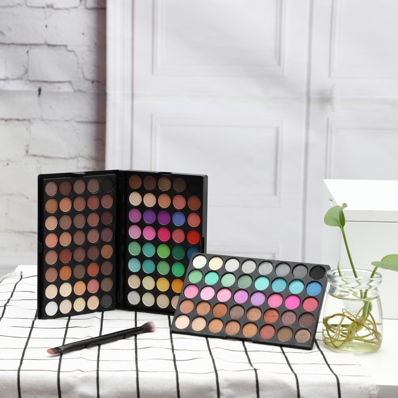 Silky Powder Professional Eyeshadow Palette Make up Pallete s