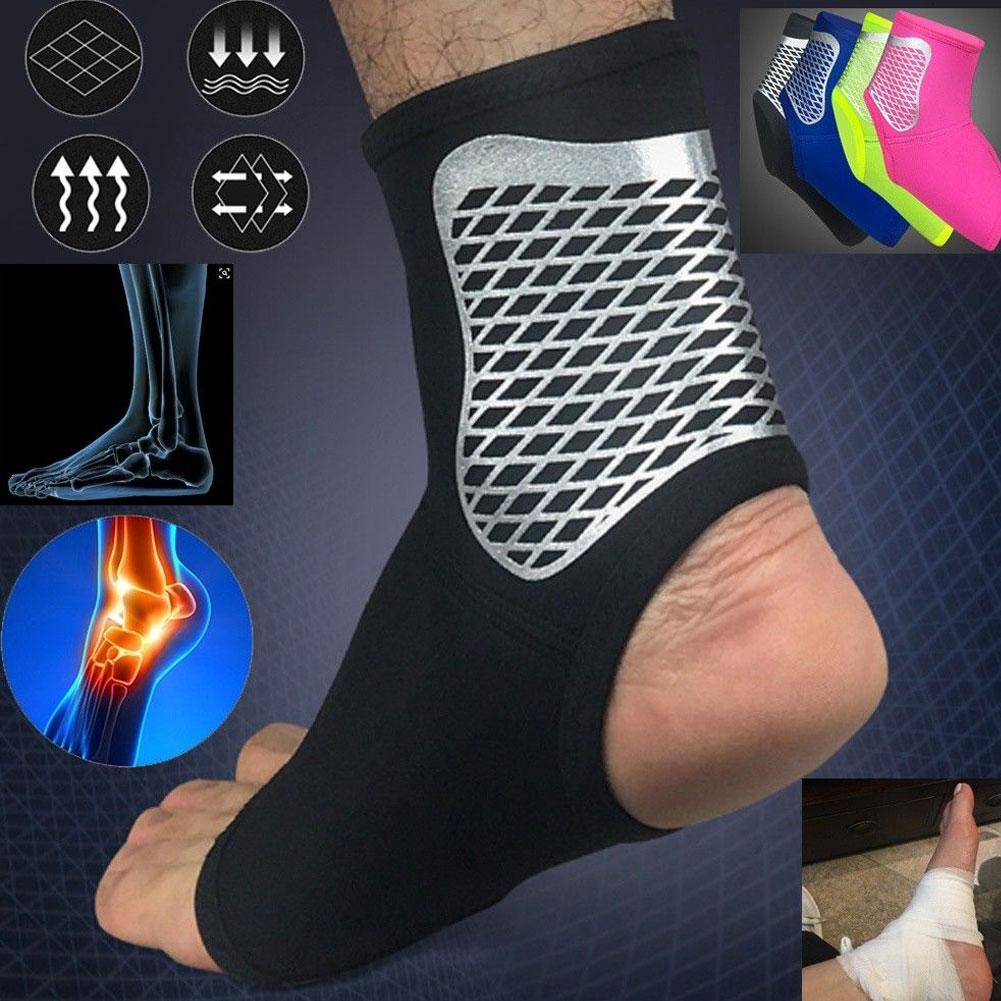 Ankle Sprain Brace Foot Support Bandage Achilles Tendon Strap Guard Protector ...