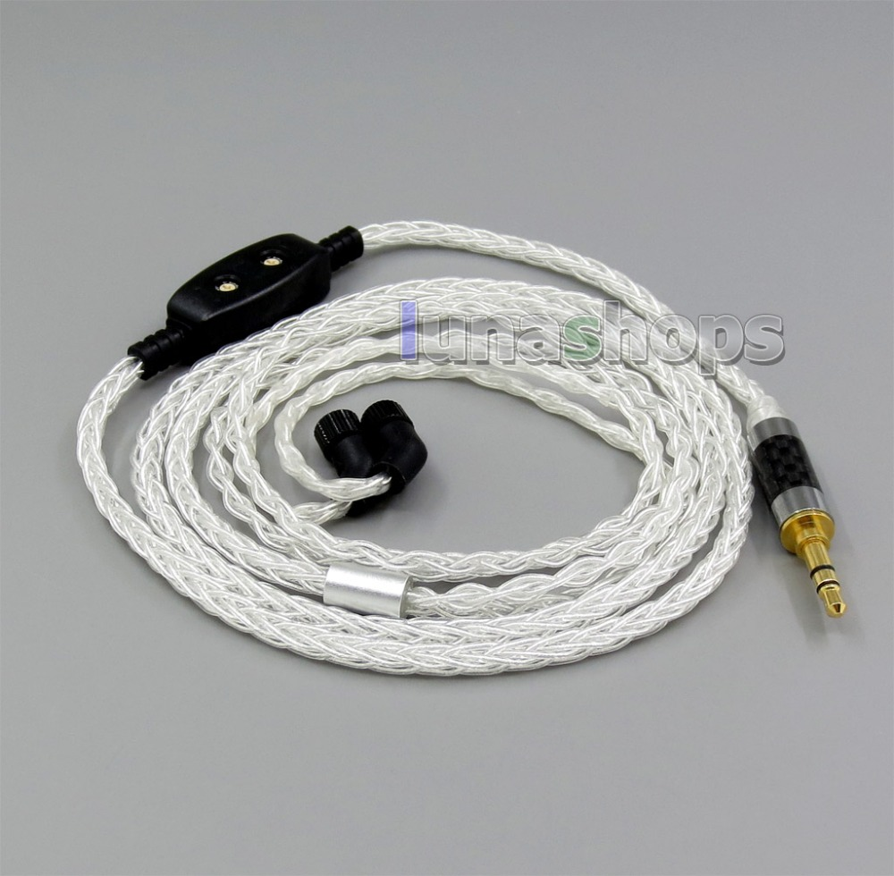 8 core Balanced Pure Silver Plated OCC Earphone Cable For AKR03 Roxxane JH24 Layla Angie AK70 AK380 KANN 8 core 2 5mm 4 4mm balanced mmcx pure occ copper earphone cable for akr03 roxxane jh24 layla angie ak70 ak380 kann