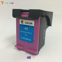 Vilaxh compatible Color ink cartridge 46xl replacement For HP 46 xl Deskjet 2020hc 2025hc 2520hc 2029 2529 4729 printer