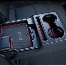 Для Mazda CX-5 CX 5 CX5 Гейт игровой коврик Нескользящая подстаканники Нескользящие Салонные подложки интерьер автомобиля Средства для укладки волос для леворульных автомобилей