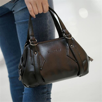 High Quality Brand Genuine Leather Women Bags Casual Tote Bag Female Soft Leather Hobos Bags