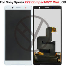 100% Test Display Voor 5.0 Sony Xperia XZ2 Compact LCD Display Touch Screen Digitizer Vergadering Vervanging Voor Sony XZ2 Mini LCD(China)