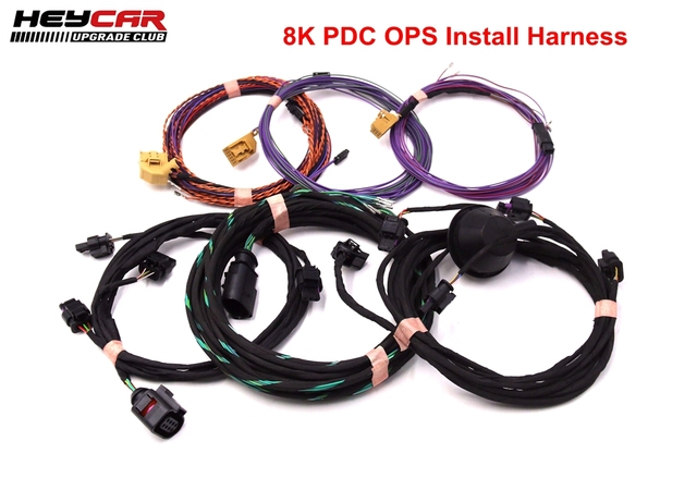 Parking Front and Rear 8K PDC OPS Install Harness cable wire For VW Golf 5/6 Passat B6 Touran JETTA MK5 Mk6 Tiguan Octavia Polo