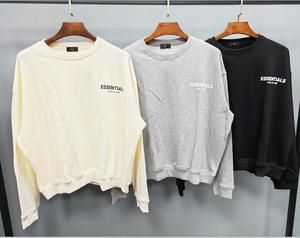 Image 4 - Qoolxcwear 2019 Mannen/Vrouwen Hoodies Sweatshirts Kanye West Fog Losse Ovesized Hoodies Essentials Hip Hop Katoen Sweatshirts
