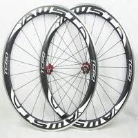 AWST Alloy Carbon Wheelset 700c Clincher 60mm Race Road Bicycle Wheels Alloy Basalt Braking Surface Carbon