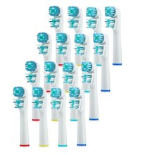 2016 New Comfortable Soft Sb417a 16pcs Sonic Replacement Brush Heads For Oral-b Electric Toothbrush1