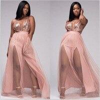 최고 등급 패션 v 넥 여성 여름 dress 스트랩 장식 조각 dress