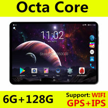 Tablet S106 10 inch WiFi Octa Core 6GB RAM 64GB ROM 1280X800 IPS Screen Dual SIM Cards Android 8.0 Google 3G 4G FDD LTE Tablets(China)