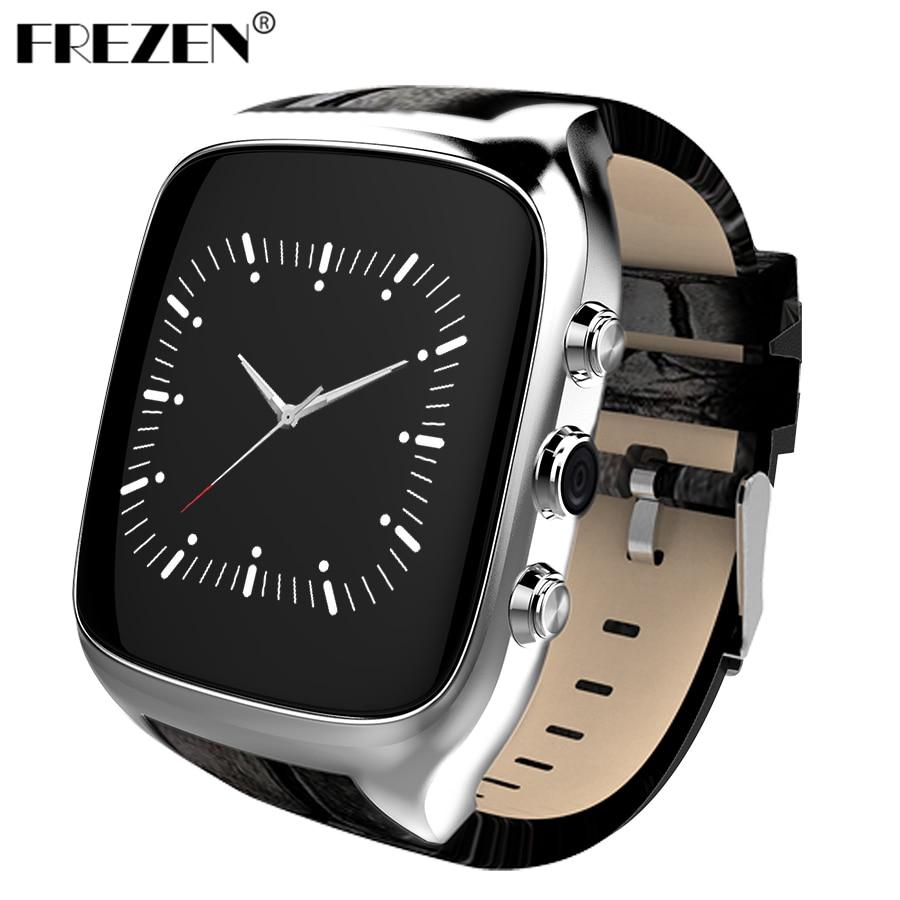 FREZEN X01S Smart Watch Android 5.1 Phone MTK6580 1.3GHz Four core 1GB+8GB 1.54 IPS 3G GPS WiFi SIM Card Camera Smartwatch smart baby watch q60s детские часы с gps голубые