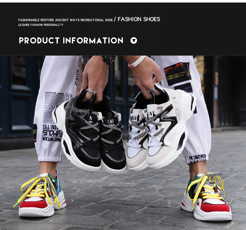 HTB1WViSShTpK1RjSZFKq6y2wXXag 2019 Harajuku Autumn Vintage Sneakers Men Breathable Mesh Casual Shoes Men Comfortable Fashion Tenis Masculino Adulto Sneakers