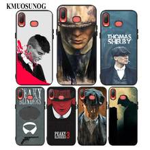 For Samsung A6S A8S A6 A7 A8 A9 A5 A3 Star Plus 2018 2017 2016 Black Silicon Phone Case Cool Peaky Blinders Style