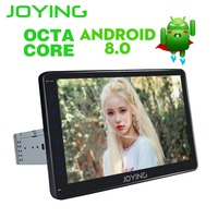JOYING 10 1 Android 8 0 Single Din 4 GB 8 Octa Core Stereo GPS Navigation