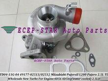 TD04 TD04-11G 49177-02513 49177-02512 28200-42540 49177-07612 Turbo For Mitsubishi L200 MONTERO PAJERO Galloper 4D56 4D56Q 2.5L