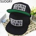 Free shipping! 2016 Fashion hot sale fucking summer cap bigbang gd hat hip-hop flat acrylic letter snapbacks cap baseball cap