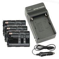 DSTE 3 шт. NP-FM500H Батарея + путешествия и автомобильное Зарядное устройство для Sony A65 A77 A99 A500 A560 A580 A850 A900 a300 A550 Камера