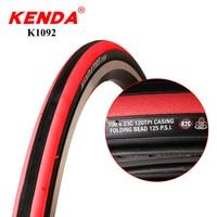 KENDA bicycle tires 700C 700*23C 120 TPI anti puncture folding tyres racing road bike tire 700 23C ultralight 220g 125 PSI