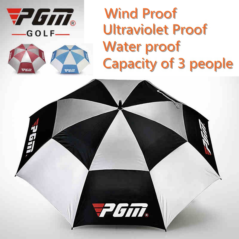 Brand Pgm Golf Umbrella Black Blue Pink New Free-Shipping. Light weight Golf Umbrella 0.6/0.7KG.
