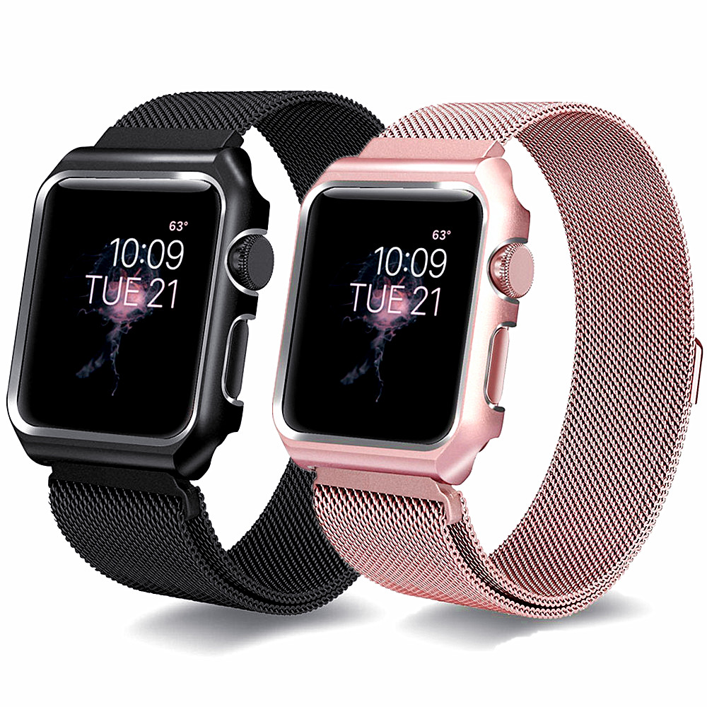 Milanese Strap+Case For Apple Watch band 42mm/38mm iWatch 4 band 44mm/38mm Stainless Steel Metal bracelet Apple watch 4 3 2 1Milanese Strap+Case For Apple Watch band 42mm/38mm iWatch 4 band 44mm/38mm Stainless Steel Metal bracelet Apple watch 4 3 2 1