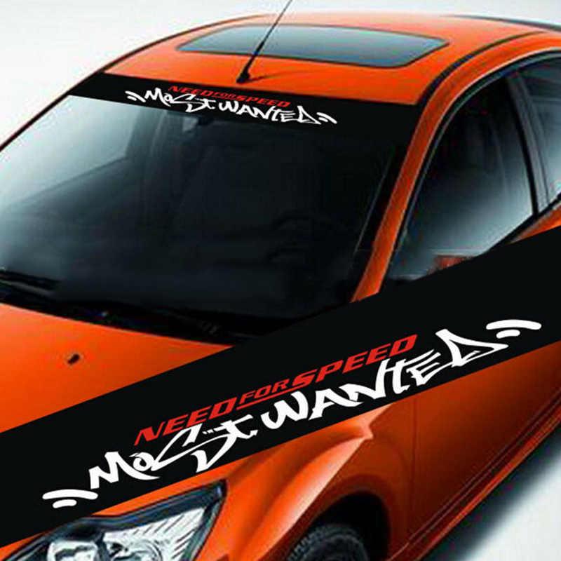 反射カースタイリングフロントウインドシールビニール車のステッカー車のアクセサリー