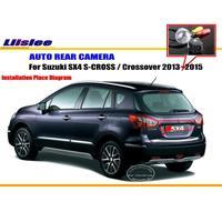 Liislee Car Rear View Camera For Suzuki SX4 S CROSS / Crossover 2013~2015 / Reverse Camera HD / License Plate Lamp OEM