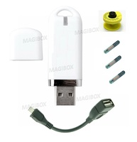 134 2Khz EM4305 125KHZ Animal Pet RFID USB Reader Support Android System Buy One Get 1