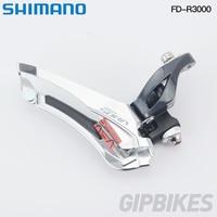 Shimano SORA FD R3000 F Front Derailleur 2x9 Speed Bicycle FD R3000 Front Derailleur Braze on Alloy