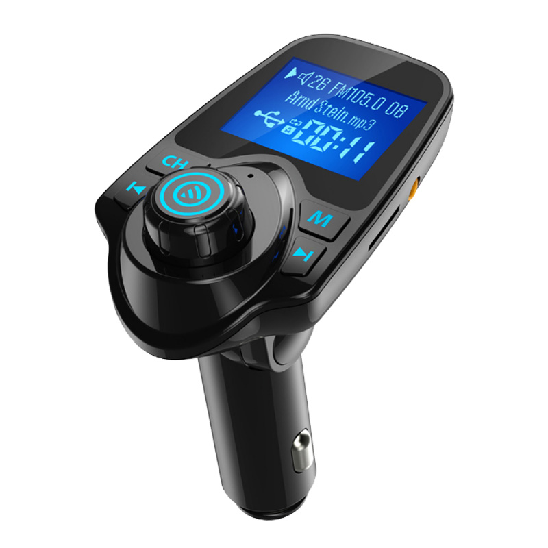 Wireless Bluetooth FM Transmitter Car Dual USB Charger MP3 Hands-free Call 2019